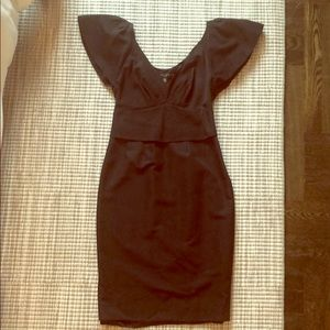 Ted Baker London black Midi dress size 2